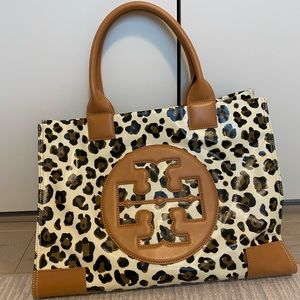 Tory Burch Ella Animal Print Bag